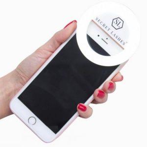 SL Selfie Ring – Lampe pour un téléphone à LED
