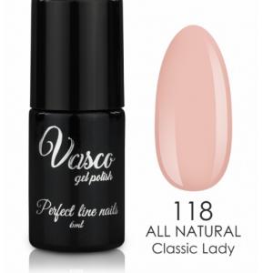 Vernis hybride. Vasco 6ml – 118 Classic Lady ALL NATURAL