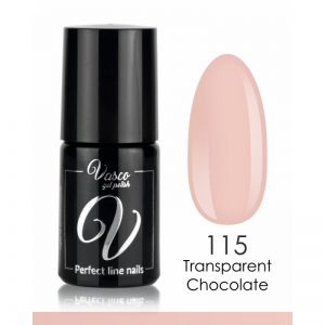Vernis hybride. VASCO FRENCH BY KATARZYNA WOLNY 6 ml – 115 Transparent Chocolate