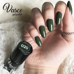 Vernis hybride. VASCO 6 ml – 020 Green Vertigo