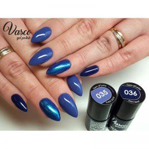 Vernis hybride. VASCO 6 ml – 035 Dark Blue