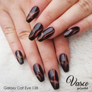 Vernis hybride. Vasco Galaxy Cat Eye 6 ml – 138 Ida