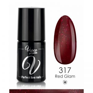 Vernis hybride. VASCO Shine & Shade 6 ml – 317 Red Glam